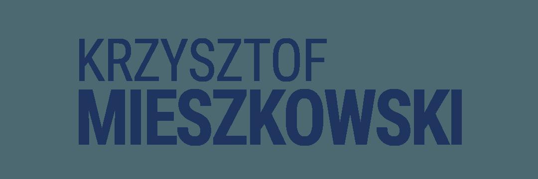 Krzysztof Mieszkowski - logo