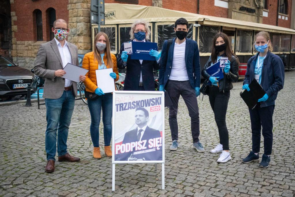 Mieszkowski, Zawada, Uhle, Niezgodzka i Młodzi Nowocześni zbierają podpisy la Rafała Trzaskowskiego
